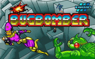 Bug Bomber action dos game 1992