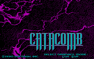 Catacomb action dos game 1990