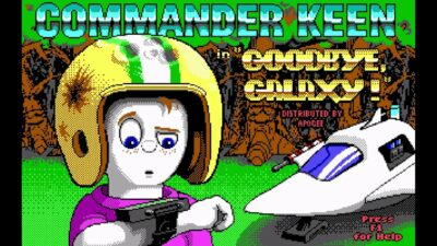 Commander Keen 4 Secret of the Oracle action dos game 1991