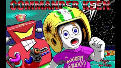 Commander Keen 5 The Armageddon Machine action dos game 1991