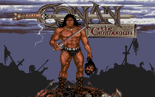Conan The Cimmerian action dos game 1991