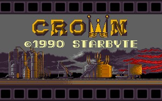 Crown action dos game 1991