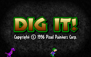 Dig It! action dos game 1996