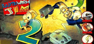 Earthworm Jim 2 action dos game 1996