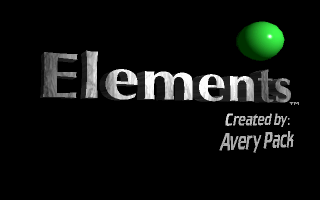 Elements puzzle dos game 1994