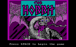 The Hobbit adventure game 1982