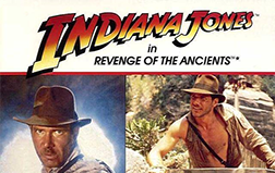 Indiana Jones in Revenge of the Ancients adventure dos game 1987