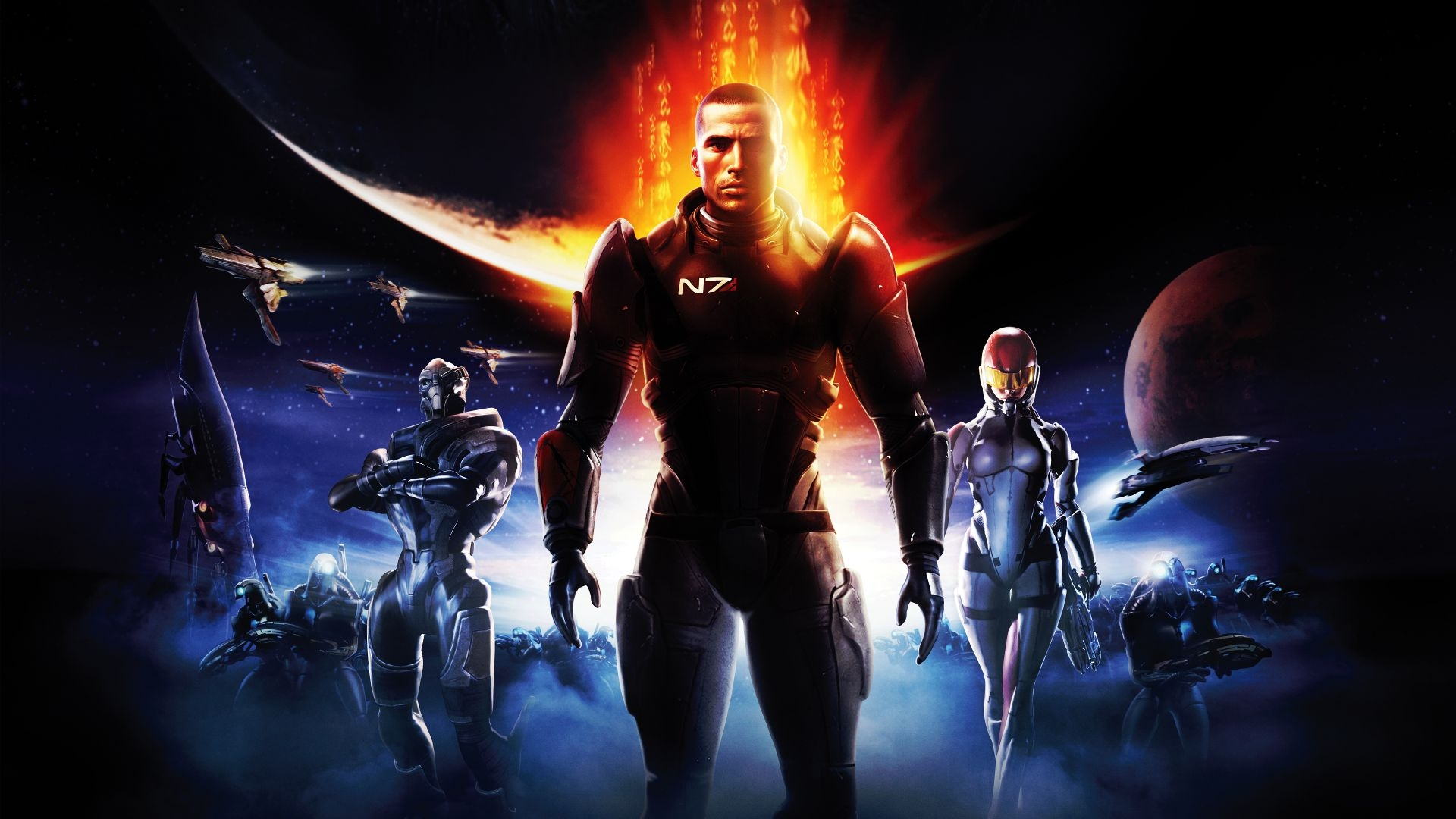 Mass Effect rpg pc game 2008