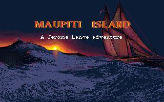 Maupiti Island adventure dos game