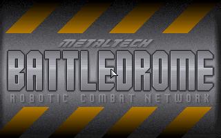 Metaltech Battledrome simulation dos game 1994