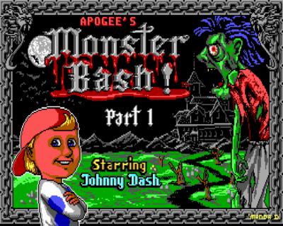Monster Bash arcade dos game 1993