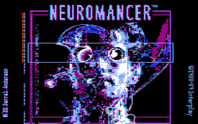 Neuromancer adventure dos game 1989