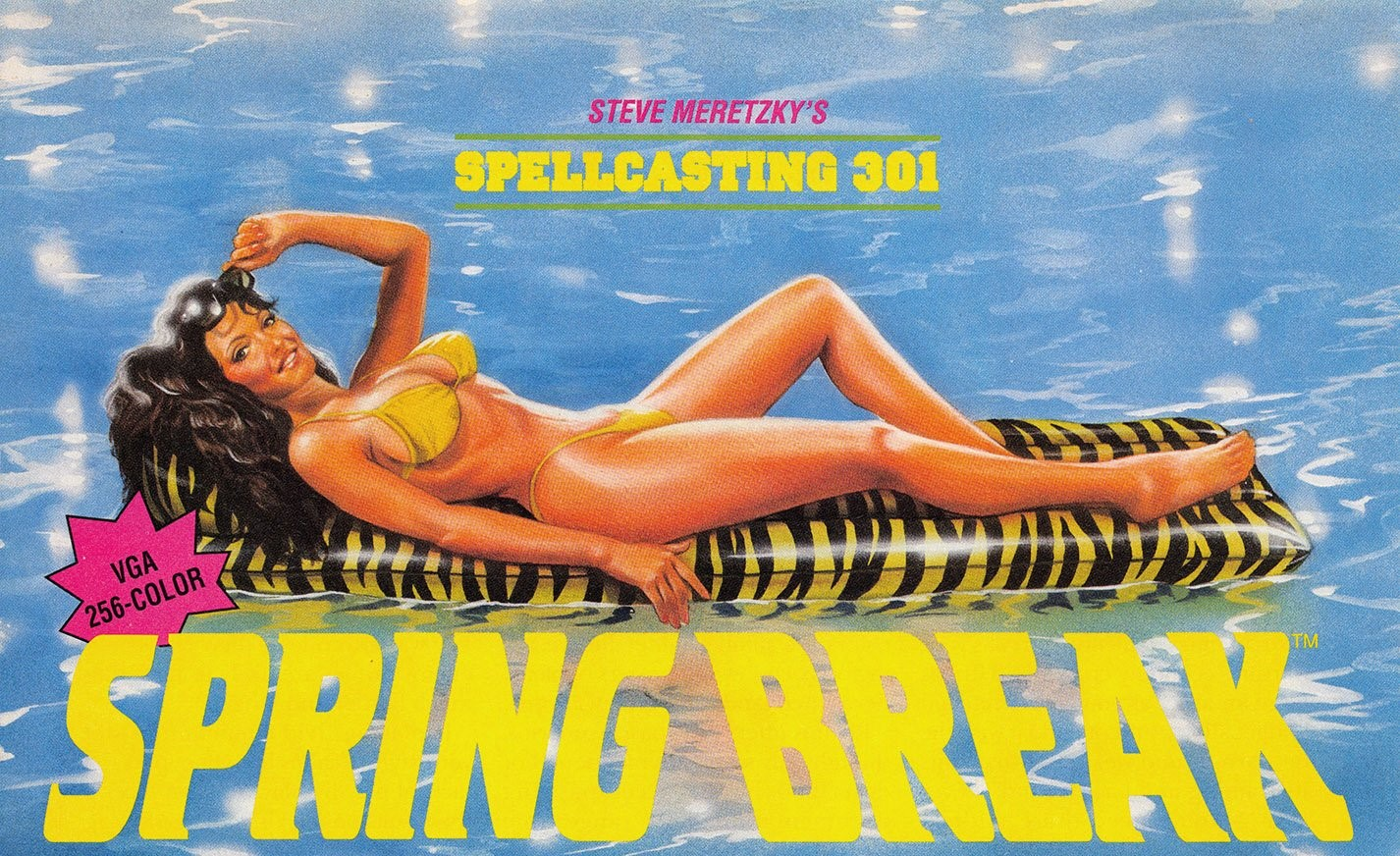 Spellcasting 301 Spring Break adventure dos game 1992