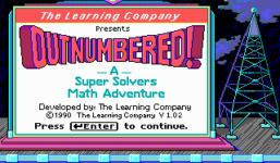 Super Solvers: OutNumbered!