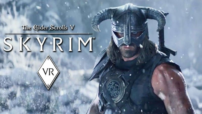 The Elder Scrolls V Skyrim VR virtual reality game 2018