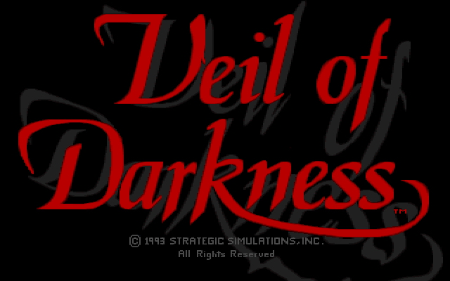 Veil of Darkness adventure dos game 1993