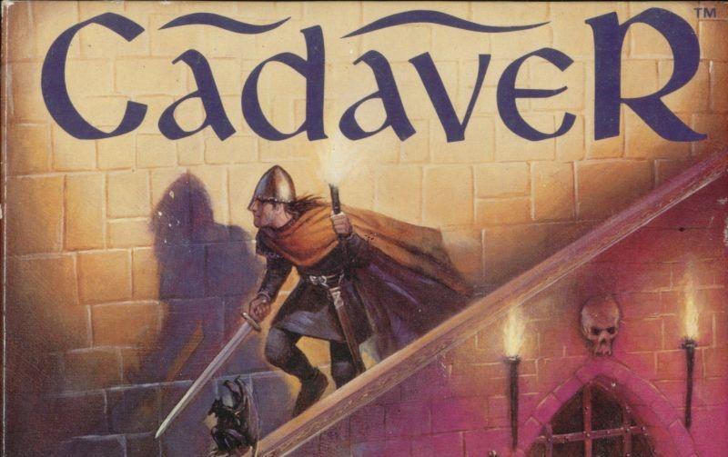 Cadaver adventure dos game 1991