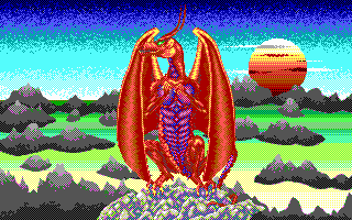 Dragonflight role playing dos game 1991