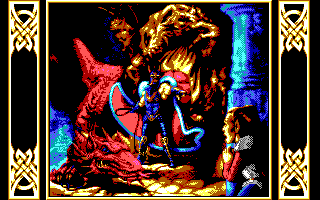 Dragons of Flame role playing dos game 1989