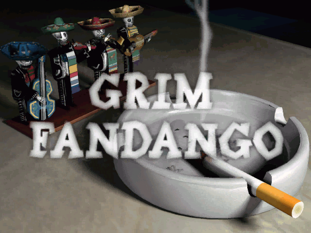 Grim Fandango adventure pc game 1998