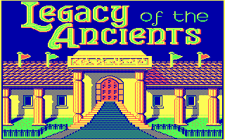 Legacy of the Ancients role playing dos game 1989