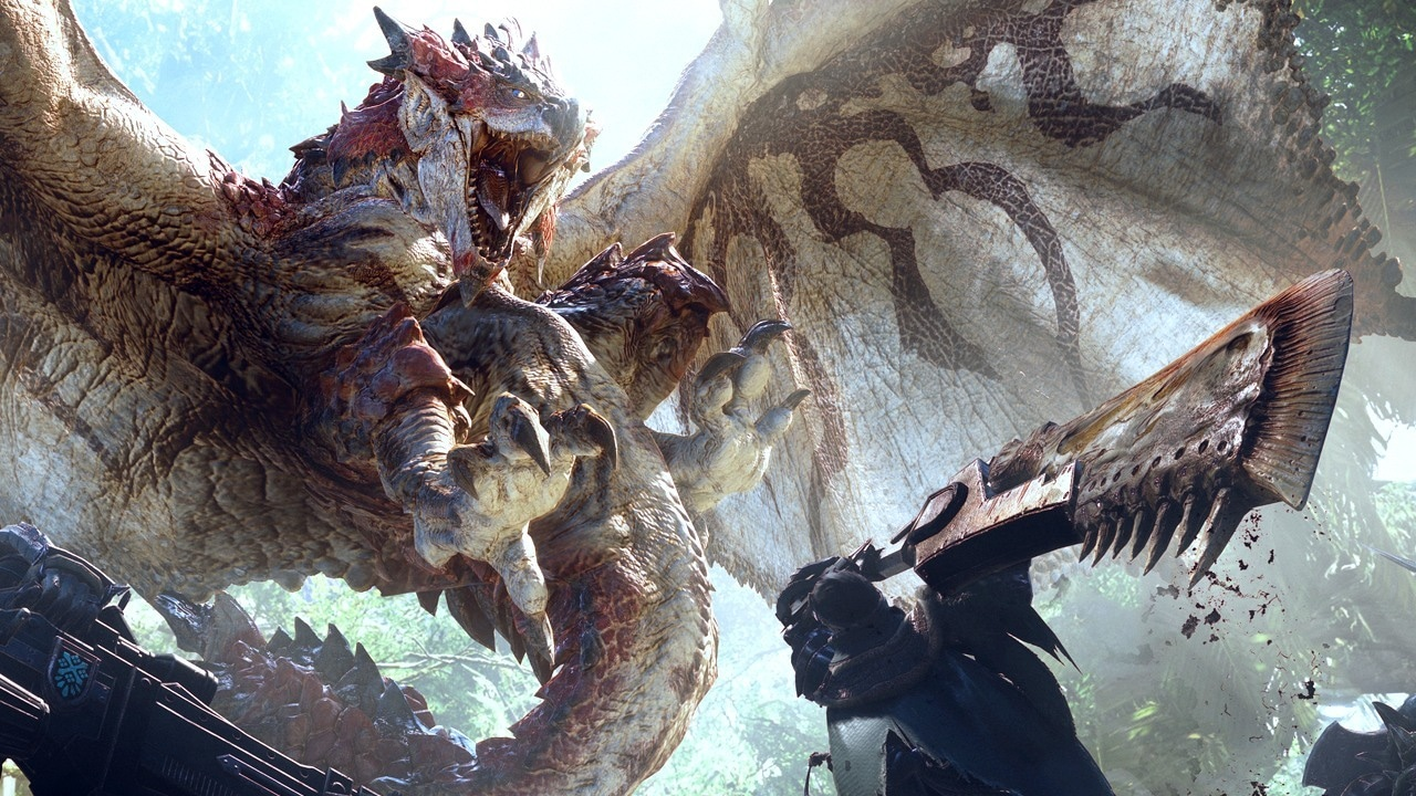 Monster Hunter: World role playing pc game 2018