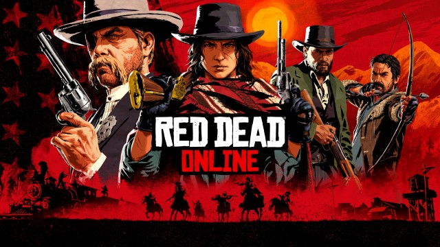 Red Dead Online action pc game 2020