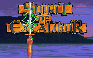 Spirit of Excalibur role playing dos game 1990