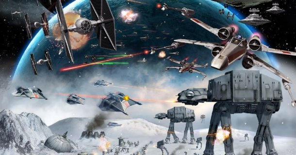 Star Wars Empire at War strategy pc game 2006