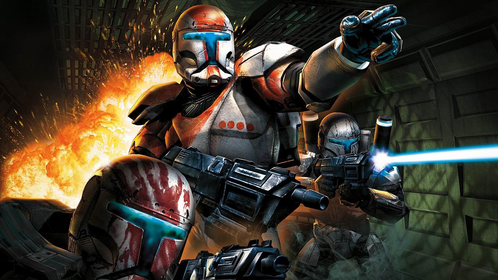 Star Wars Republic Commando action pc game 2005