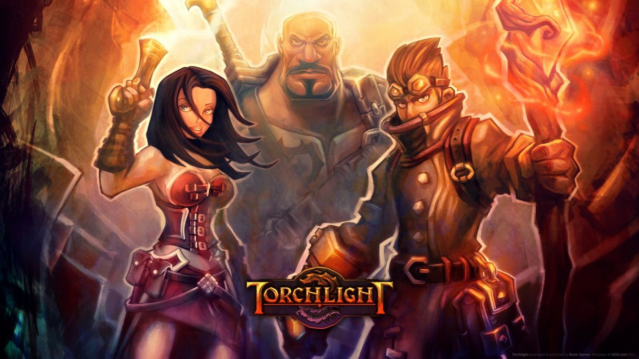 Torchlight role playing pc game 2009