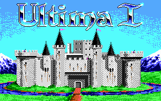 Ultima I The First Age of Darkness role playing game 1987