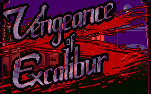 Vengeance of Excalibur role playing pc game 1991