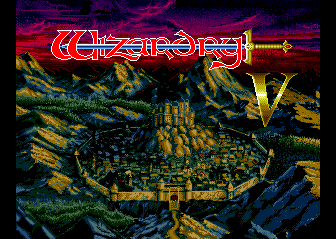 Wizardry V Heart of the Maelstrom role playing pc game 1988
