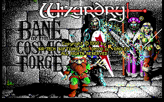 Wizardry VI Bane of the Cosmic Forge role playing pc game 1990