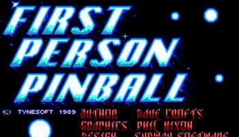 1st Person Pinball